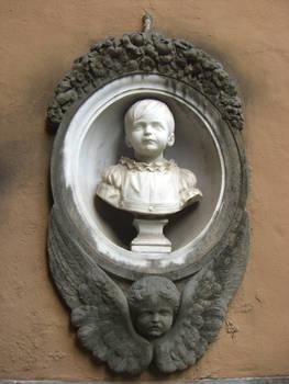 Graveyard Statue Stock 1