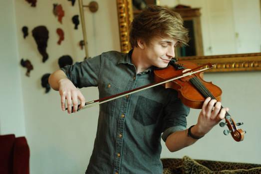 Male Violin Stock 5