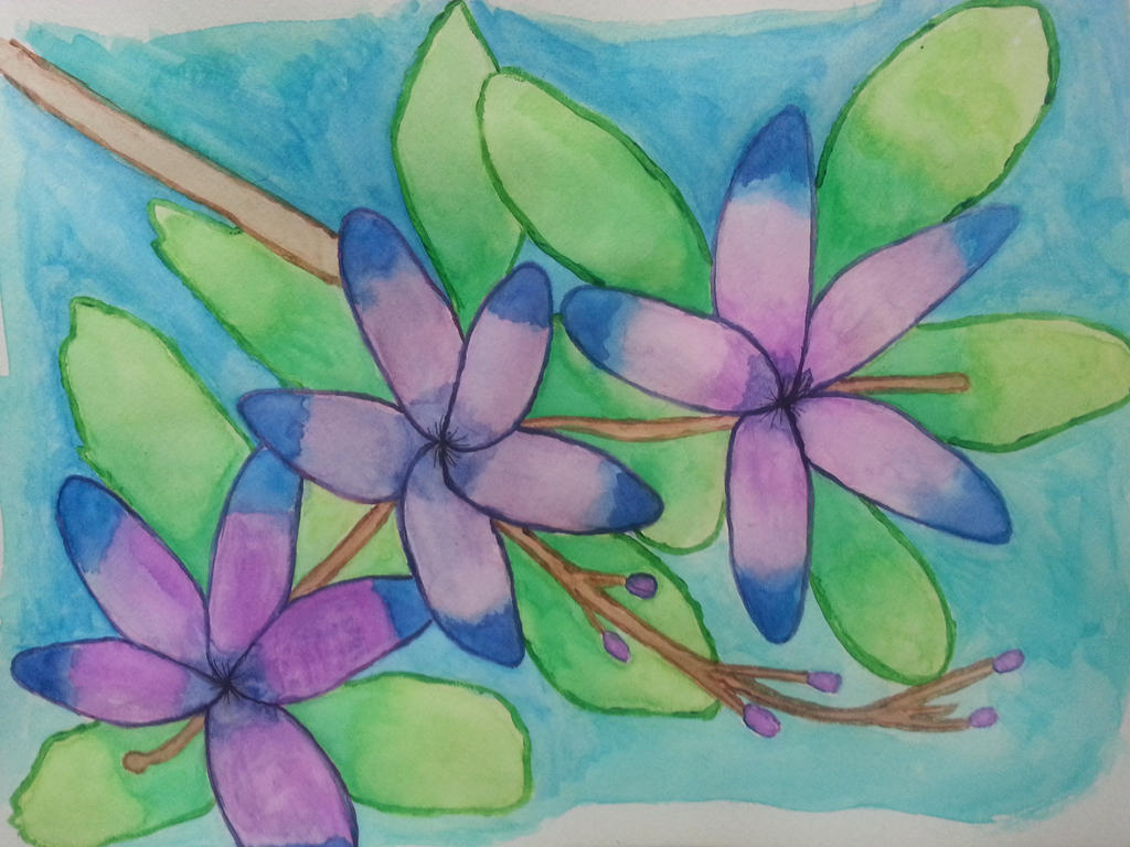 Flowers by Randomladyaj