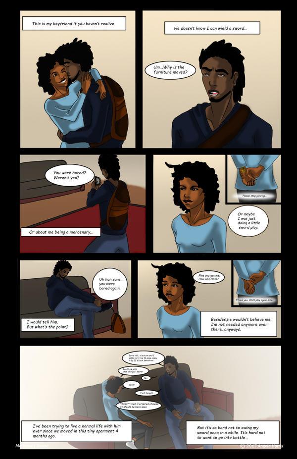 MercenaryBound_ Page 3 by Randomladyaj