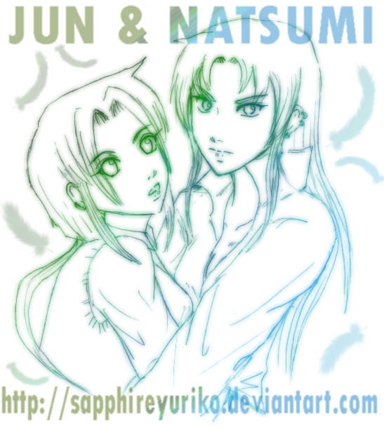 Jun 'N' Natsumi by sapphireyuriko