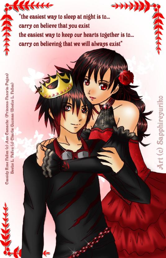 Red And Black by sapphireyuriko