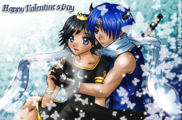 Happy Valentine's Day by sapphireyuriko