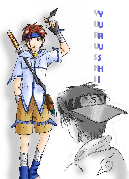 Yurushi -Naruto OC by sapphireyuriko