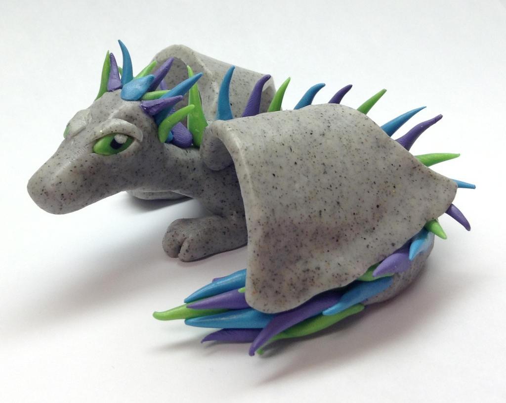 Jester the Stone Dragon by MoriahsGlitch