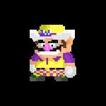 Wario 32x32 Mario Golf Super Rush