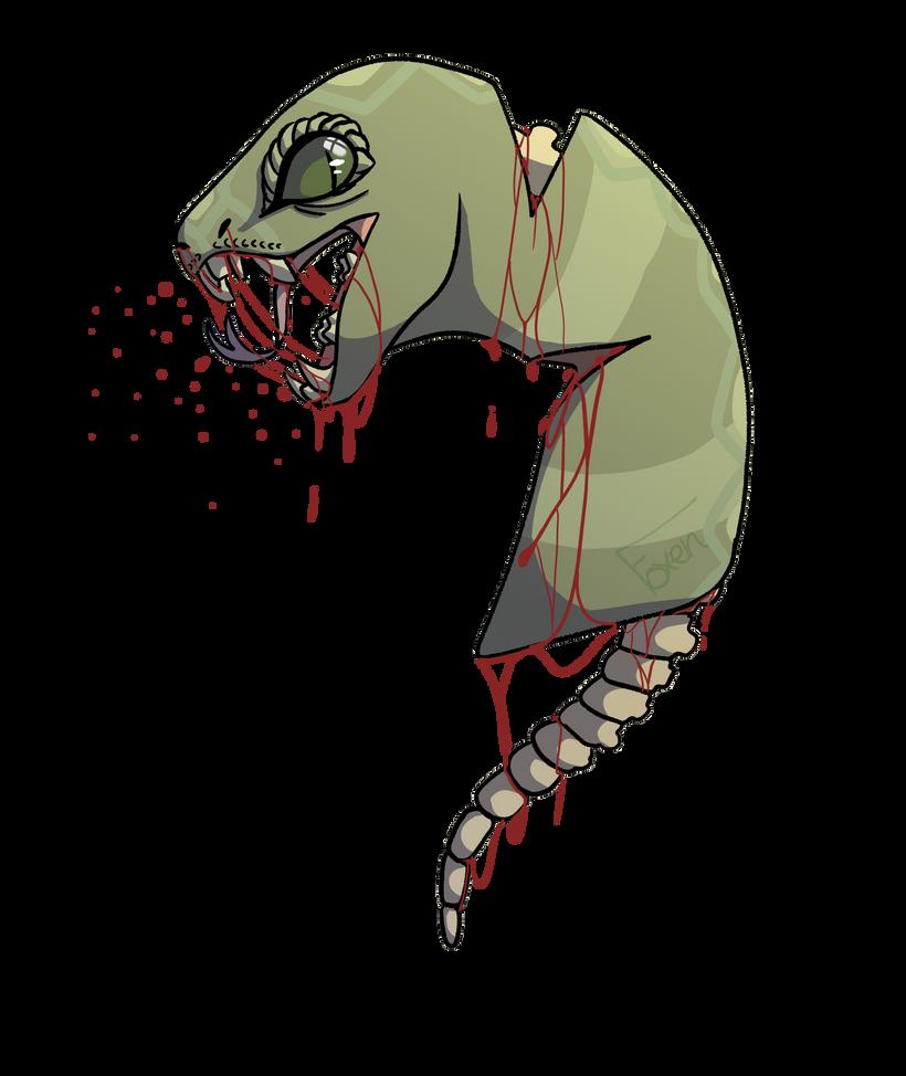 Bloody Dragon by galaxybatmom