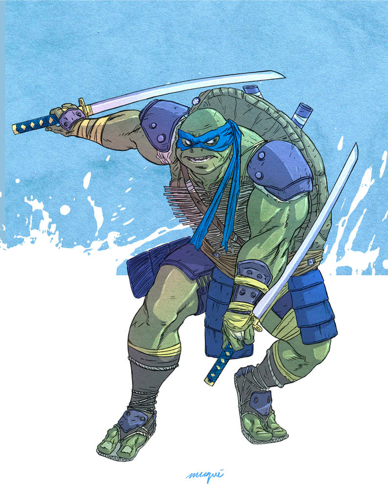 Leonardo Tmnt Movie By Valderrama On DeviantArt