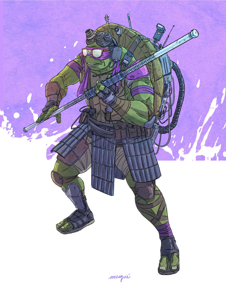2014 Fan Art Thread  Archive  Donnie Tmnt 2014