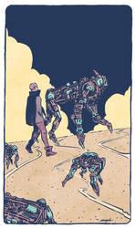 walking with robots by valderrama