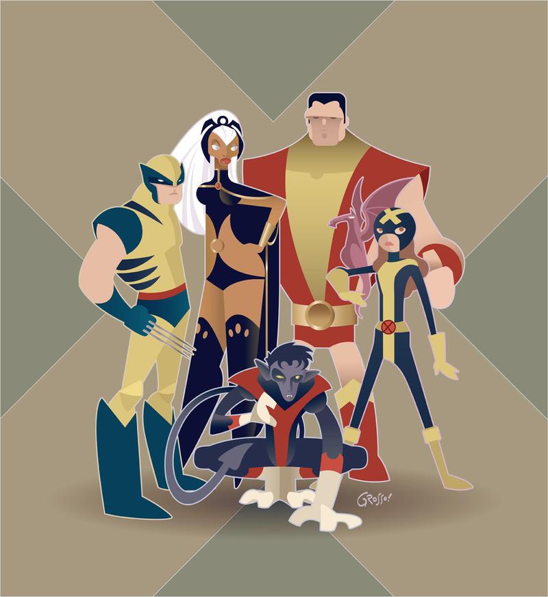 X-MEN by Diego Grosso by ArteX79