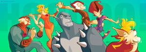 Thundercats HO! by DIEGO GROSSO by ArteX79