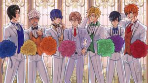 Obey Me Wedding Boys