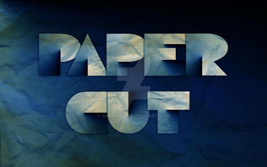Paper Cut by Sarah-Q8