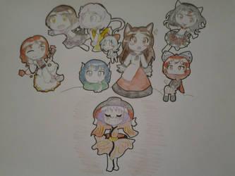 Touhou Kishinjou ~ Double Dealing Character by AuroraArtz