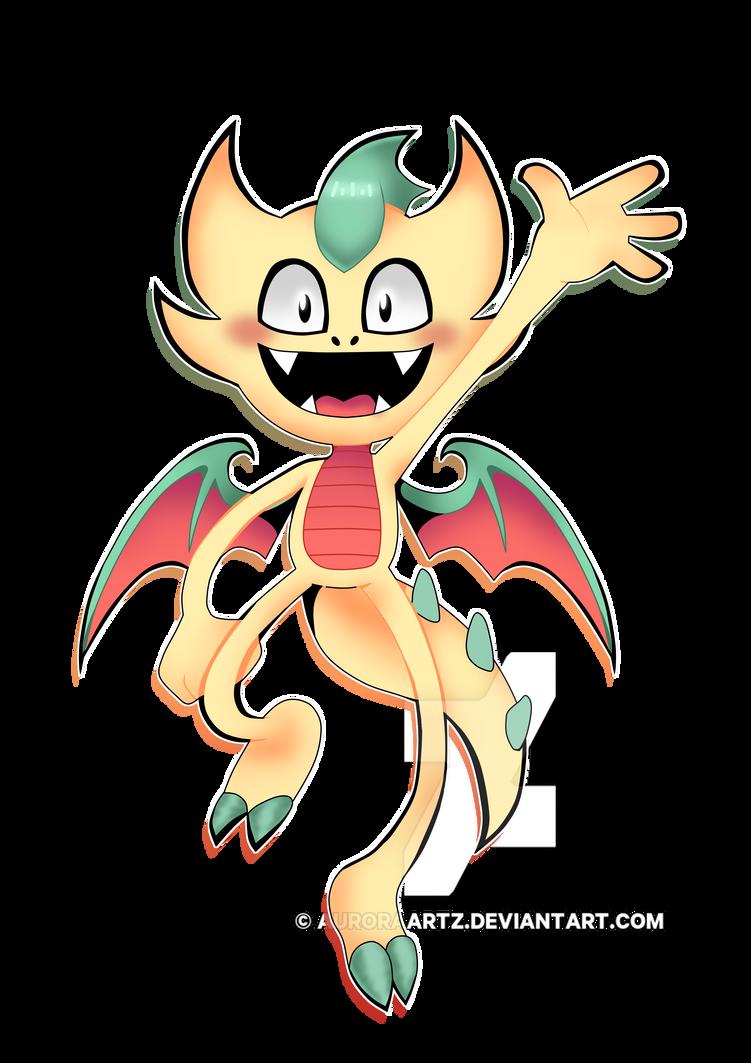 Doodle - Design for a Mascot contest by AuroraArtz