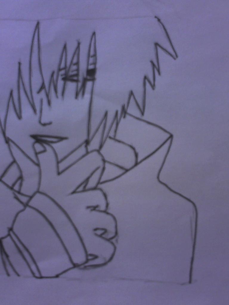Punky Sasuke by falloutgirl14
