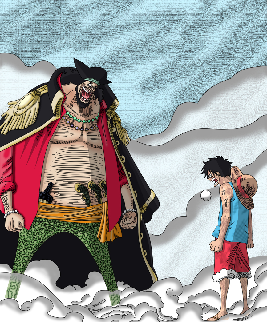 rencontre luffy teach