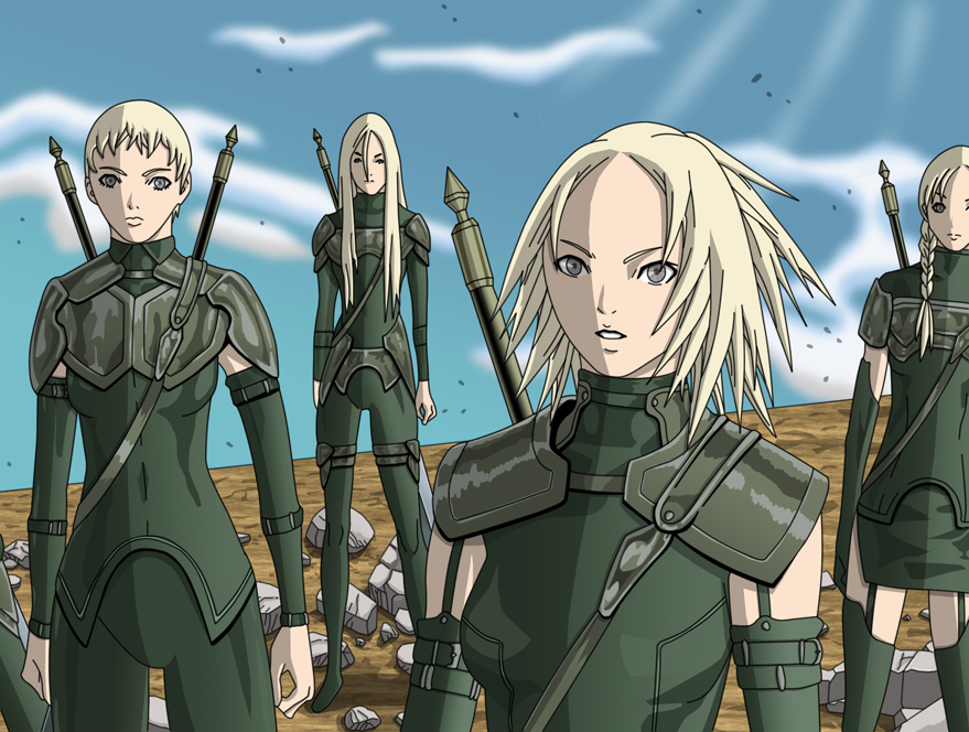 Claymore group Miria, ...