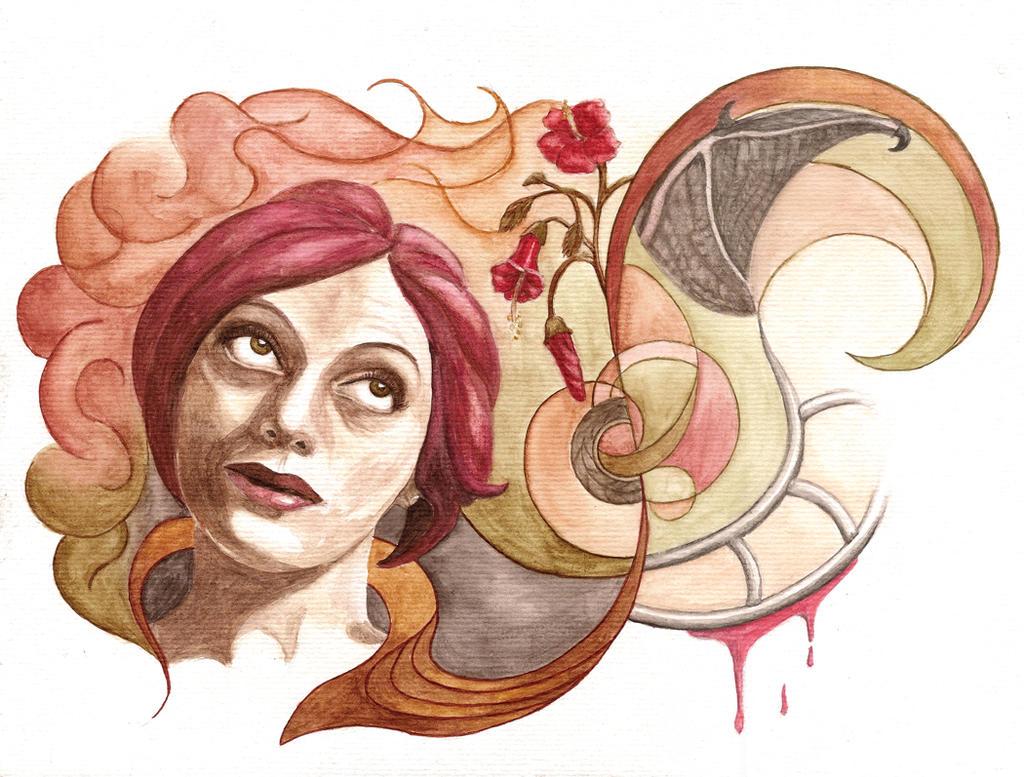 Self-portrait for porfolio - Autoretrato portfolio by VTAbdala
