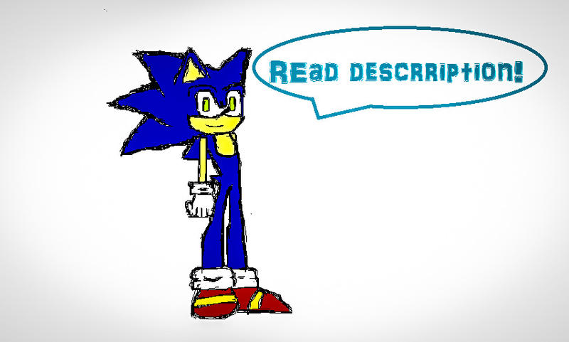 It's Sonic!! by batmanisawesome666