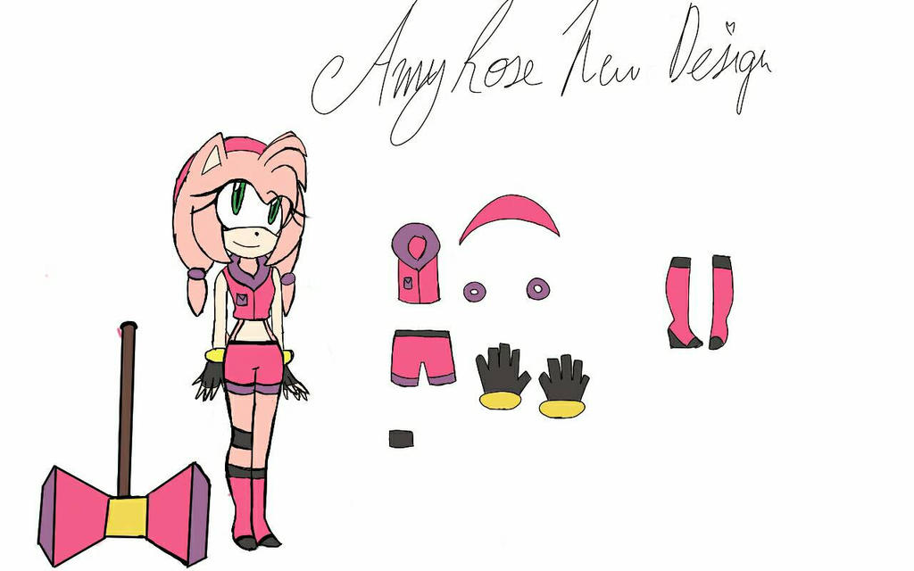 New Design (Amy) by batmanisawesome666