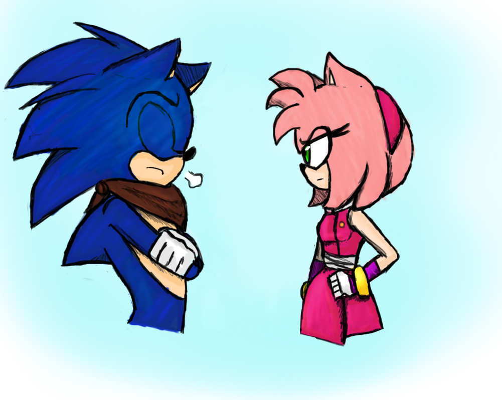 REDRAW Sonamy Moment? Part 2 by batmanisawesome666