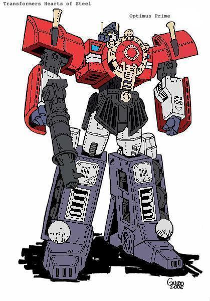 Optimus Prime H.O.S. robot by Trainguy - 81.4KB