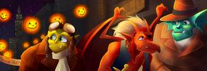 Halloween (Screencap Redraw)