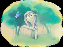Beautiful Fluttershy by dawkinsia
