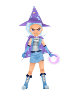The Great and Powerful Trixie by dawkinsia