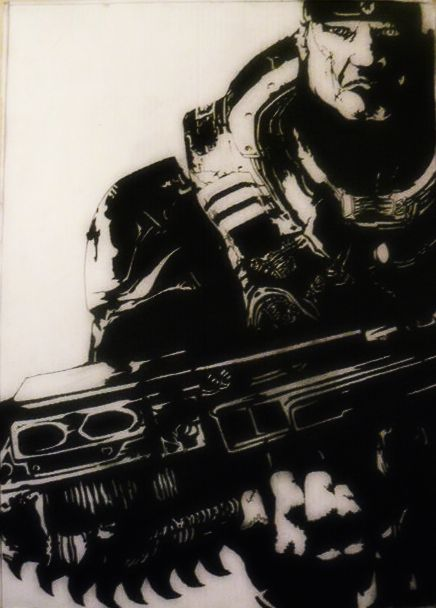 Marcus Fenix Gears Of War 2 By Amberelainewalker On Deviantart
