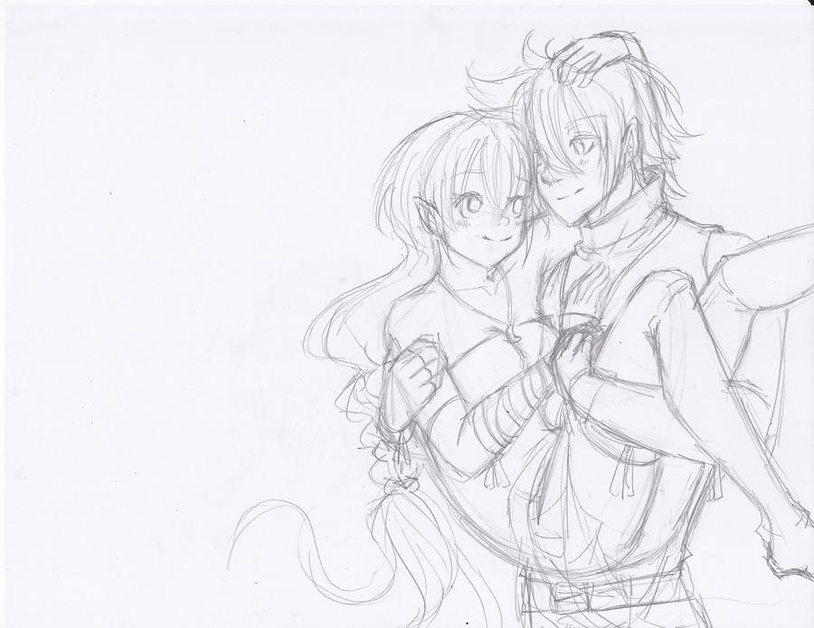 Prelim. Sketch 1 by Pr0perty0fS0ul