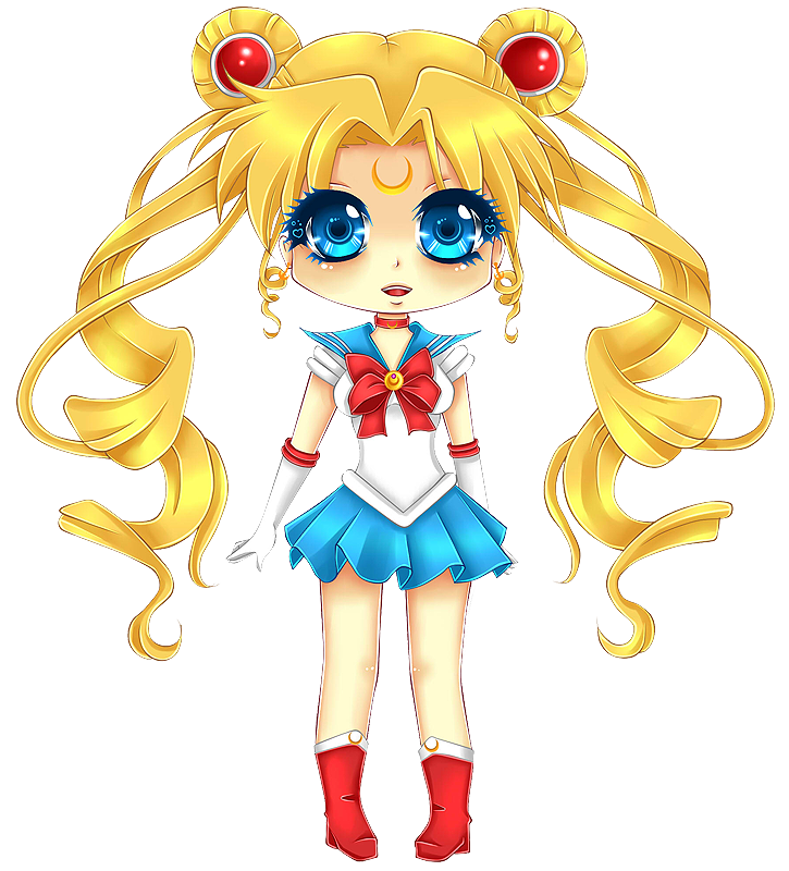 Sailor Moon Chibi By Tish Marie On Deviantart
