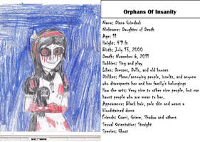 Orphans of Insanity: Dead Diana by MrRattleBones45678