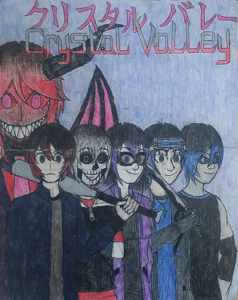 Crystal Valley Concept Poster by MrRattleBones45678
