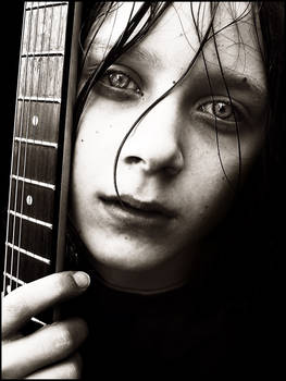 Boy and his Guitar II