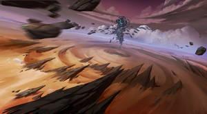Fantasy desert by ZhangQipeng