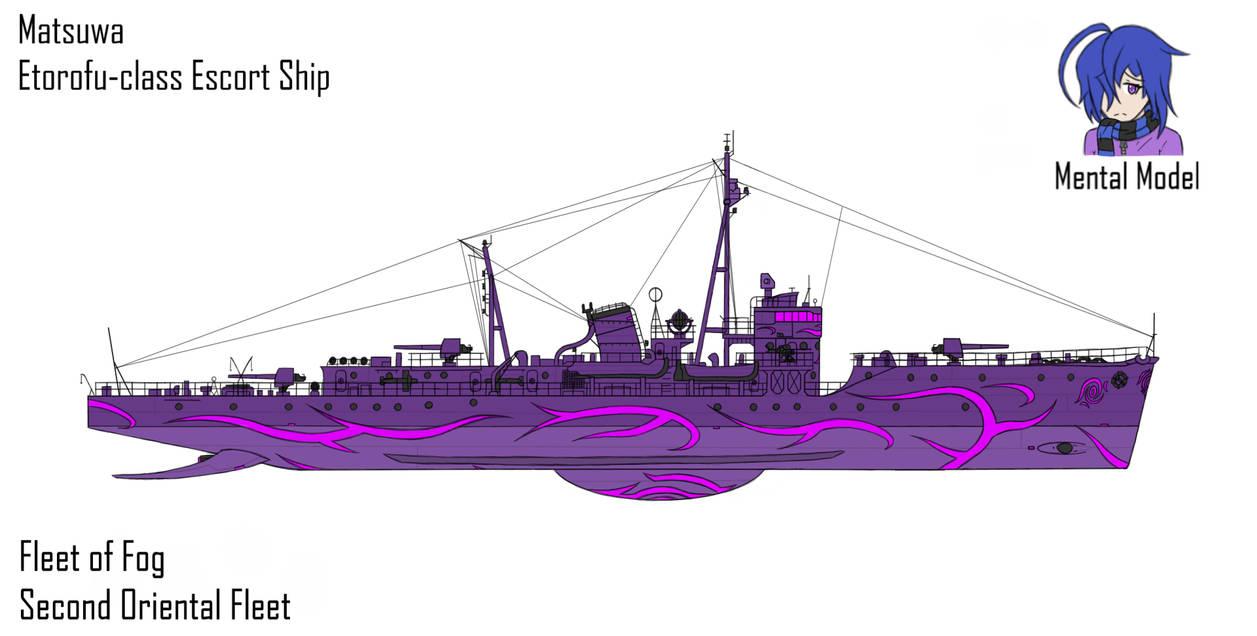 Fog Escort Ship Matsuwa by Zyfle on DeviantArt