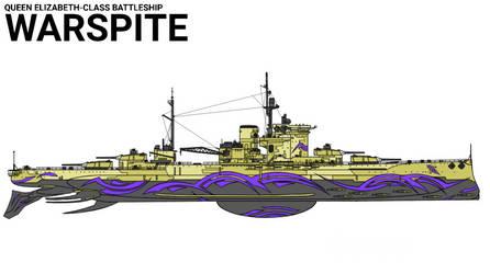 Fog Battleship Warspite by Zyfle