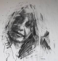 portrait sketch by Carnegriff