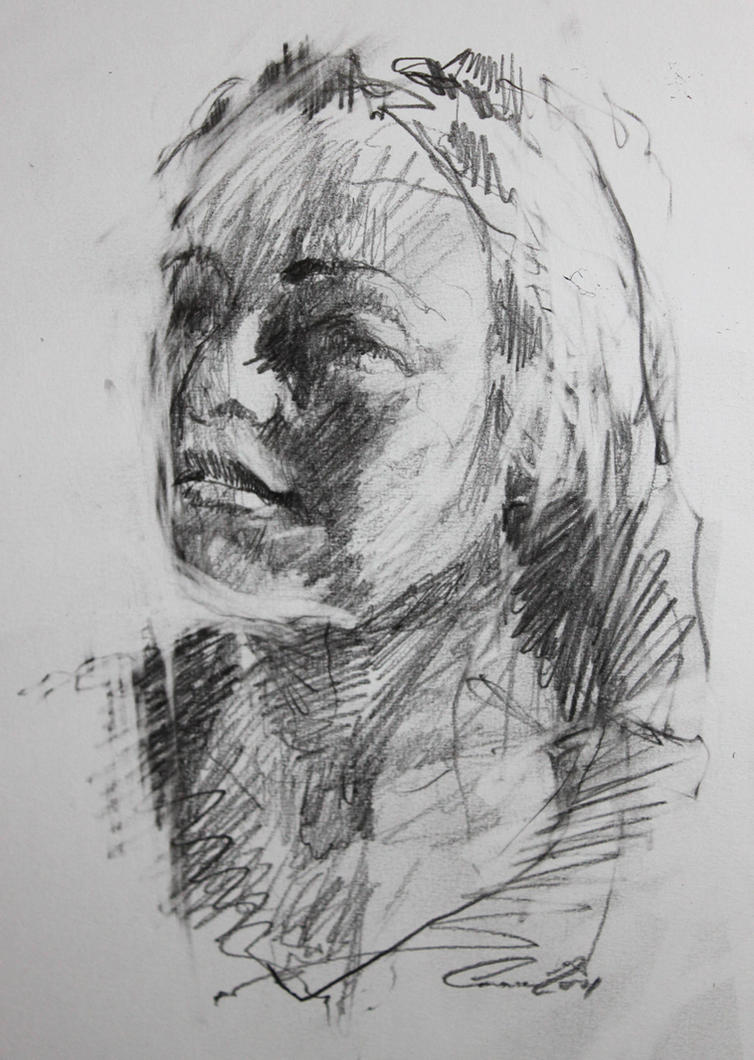 portrait sketch 2 by Carnegriff
