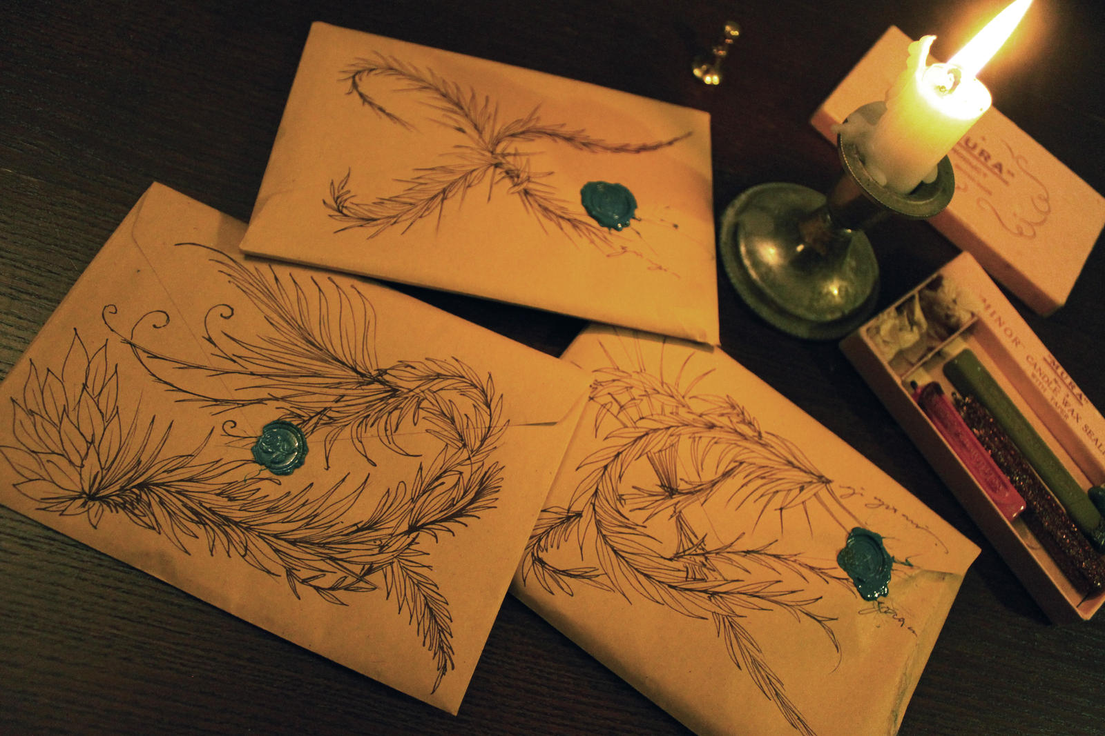 Envelopes for Fragments by Carnegriff