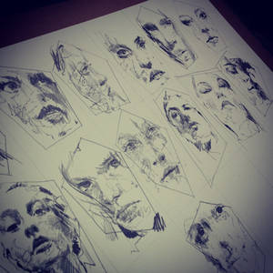 Portrait Sketches - Graphite on Bockingford Paper