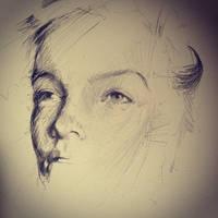 rise pt1 work in progress (sketch) by Carnegriff
