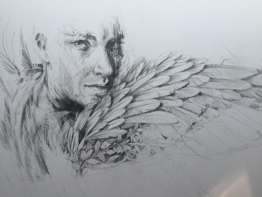 Angel (wip) by Carnegriff