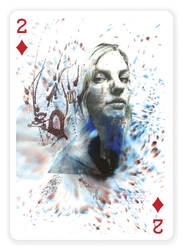 2 of Diamonds by Carnegriff