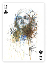 2 of Clubs by Carnegriff