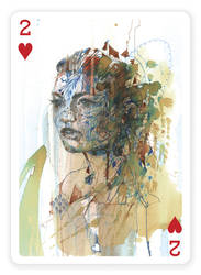 2 of Hearts by Carnegriff
