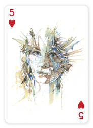 5 of Hearts by Carnegriff